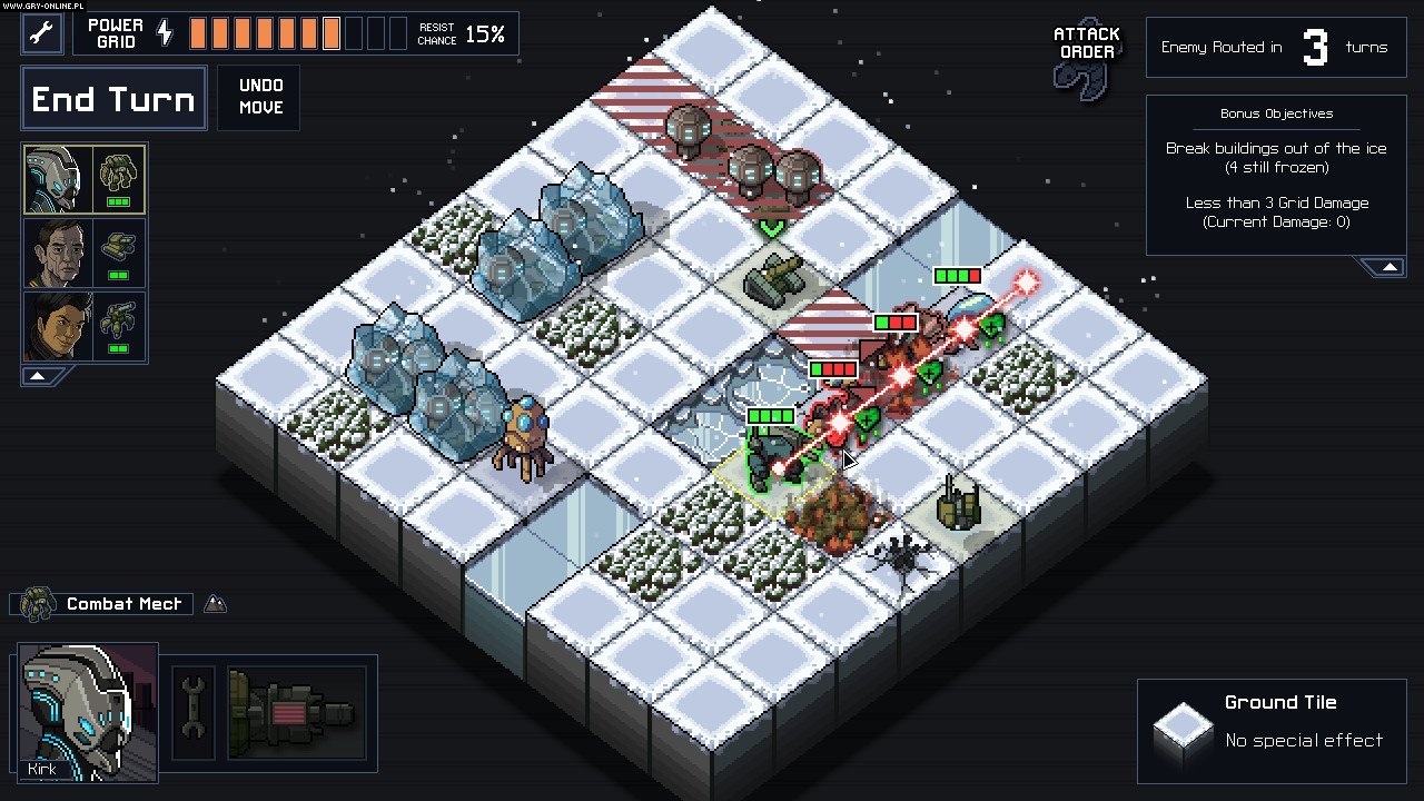 Into the Breach PC, Switch Gry Screen 7/11, Subset Games