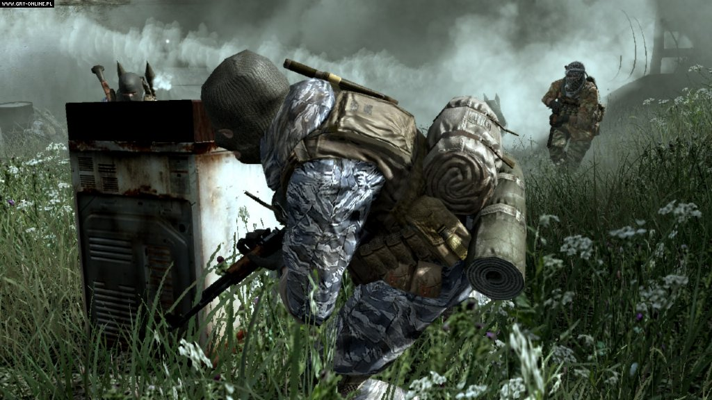 Call of Duty 4: Modern Warfare PS3 gameplay