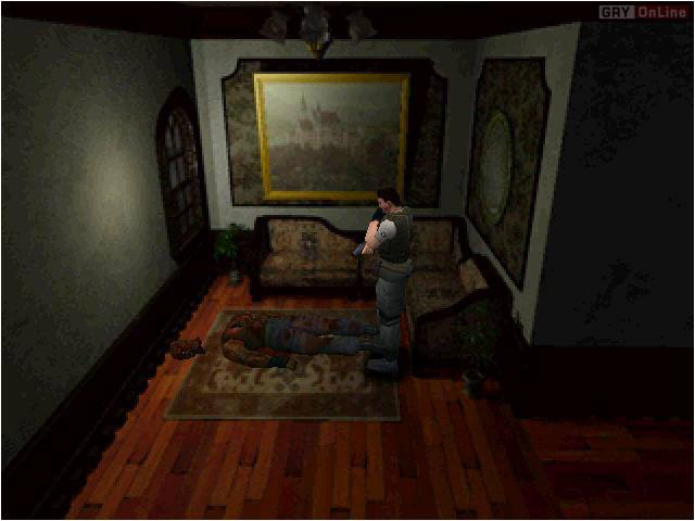 Resident Evil PC Gry Screen 13/15, Capcom, Virgin Interactive