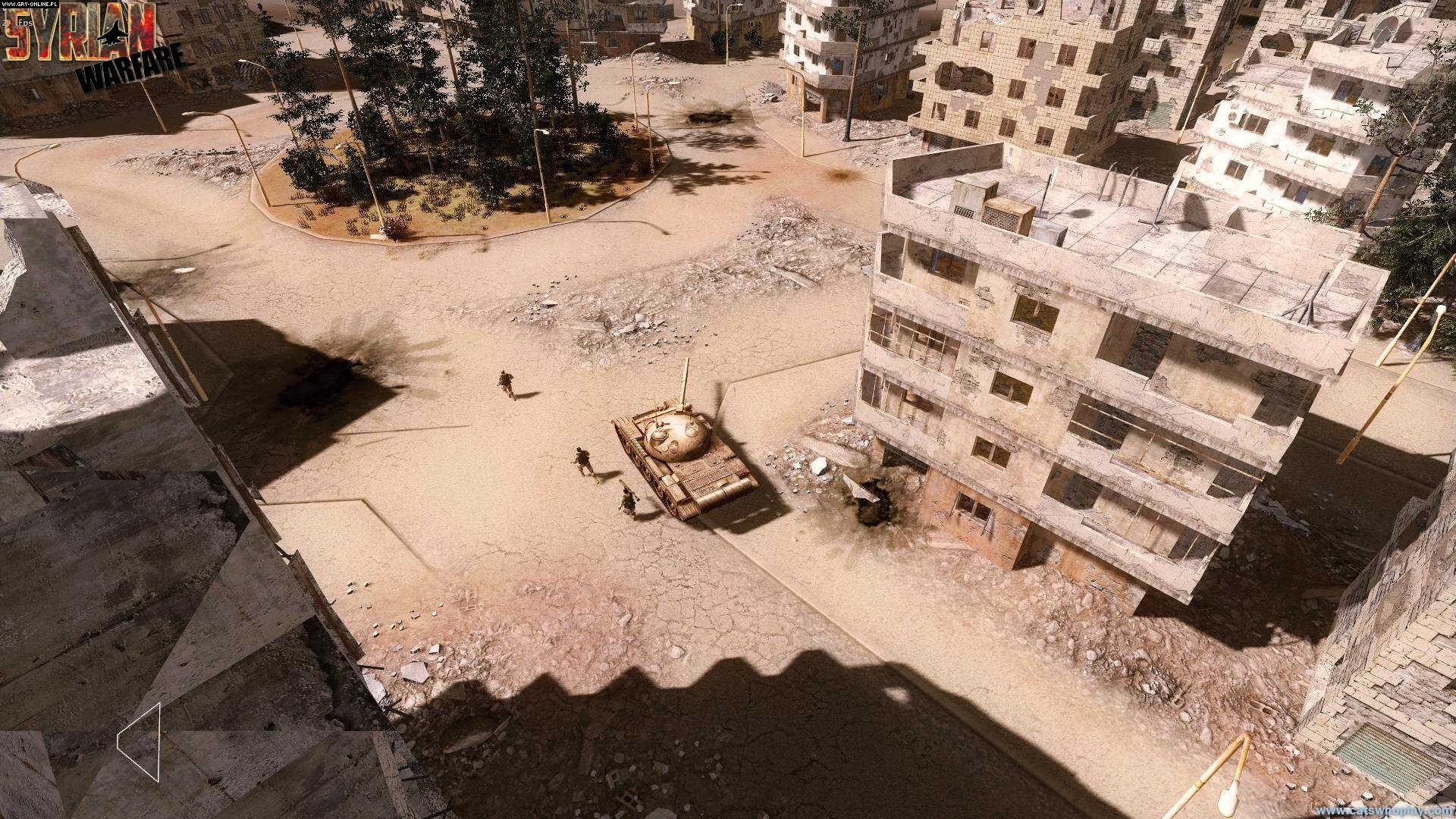 Syrian Warfare PC Games Image 15/15, Cats who play