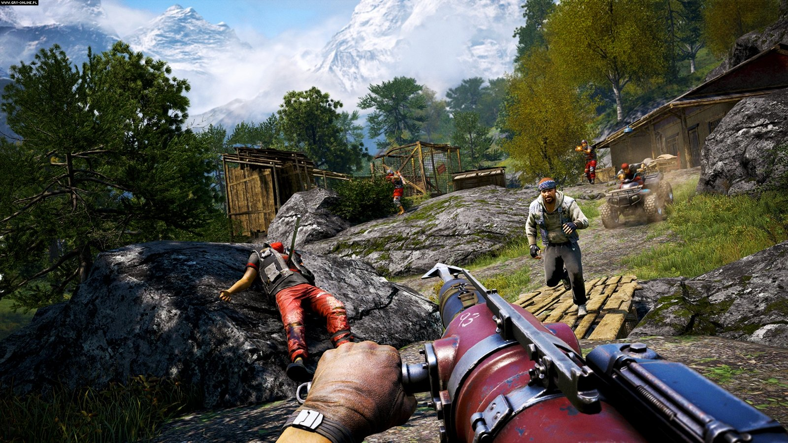 Far Cry 4 PS4 Gameplay,