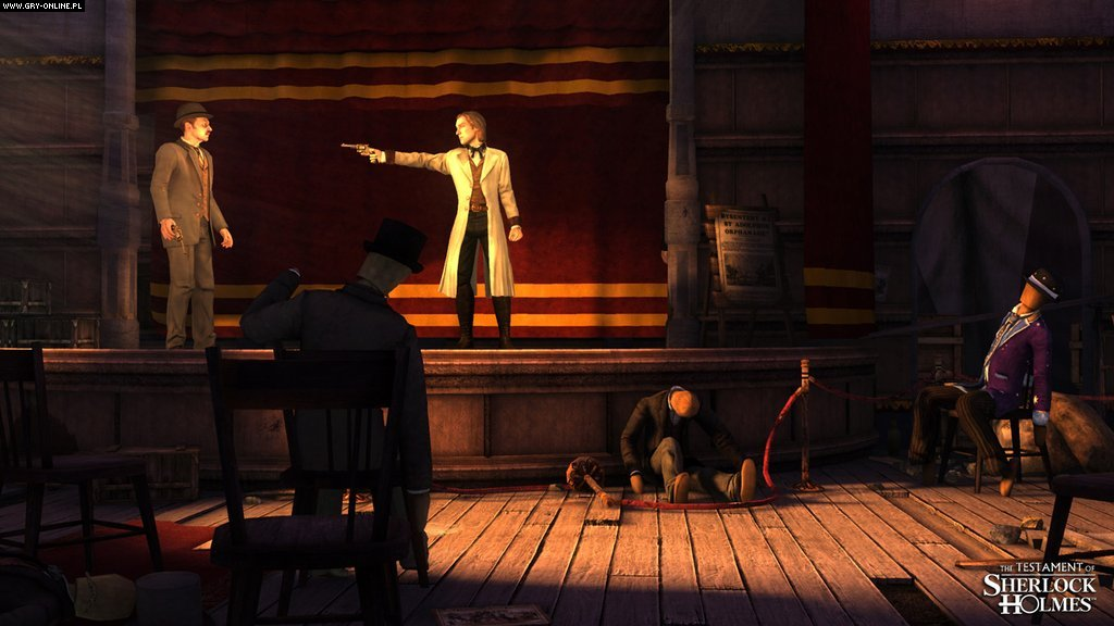 Testament Sherlocka Holmesa PC, X360, PS3 Gry Screen 11/62, Frogwares, Focus Home Interactive