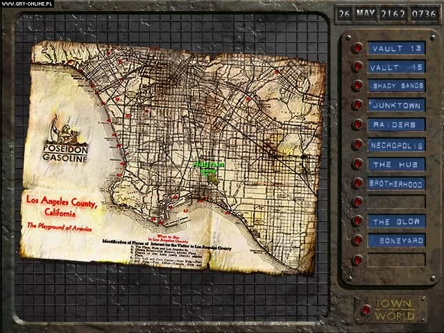 Fallout PC Gry Screen 9/69, Interplay Entertainment