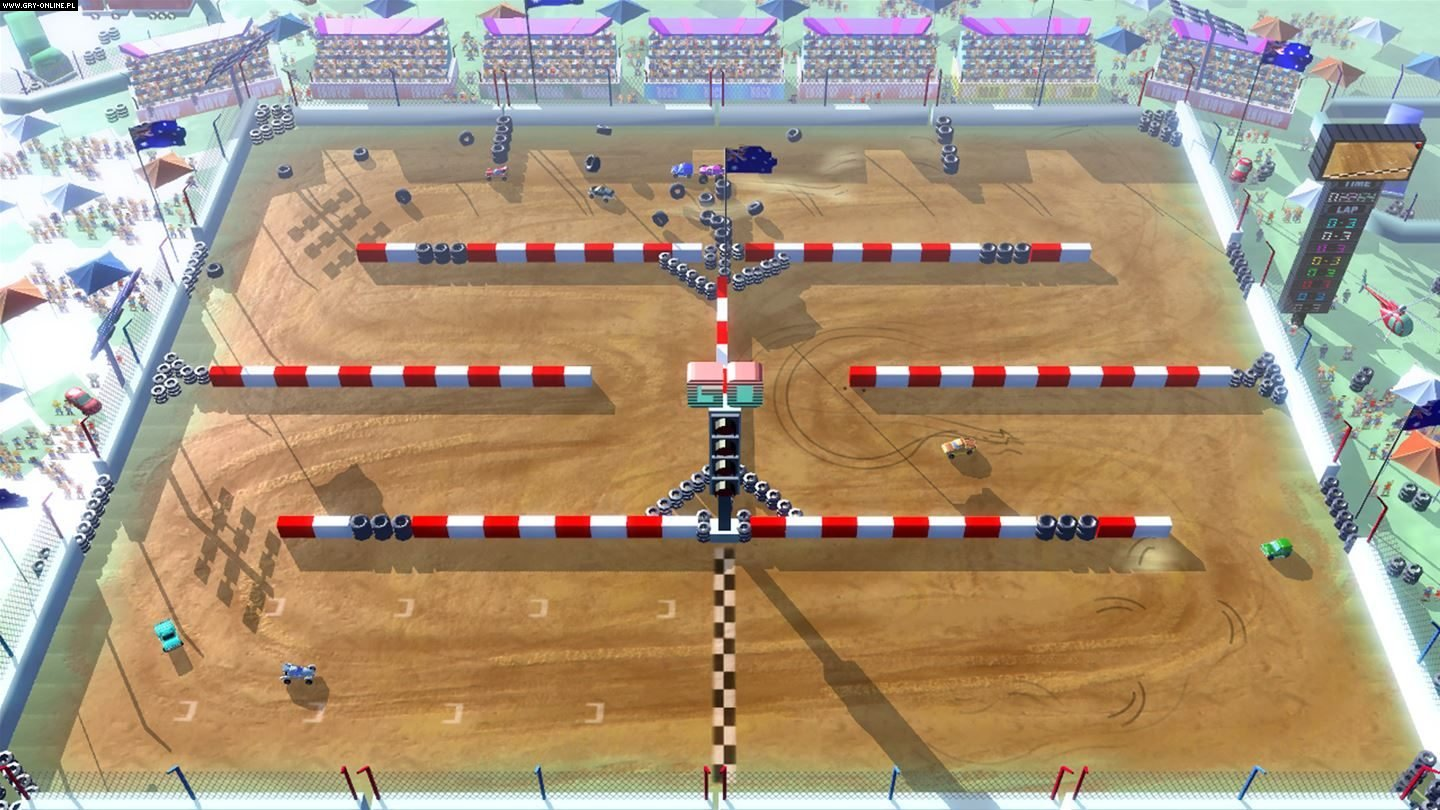 Rock'N Racing Off Road DX XONE, PS4, WiiU, Switch Games Image 1/28, Enjoy Up Games