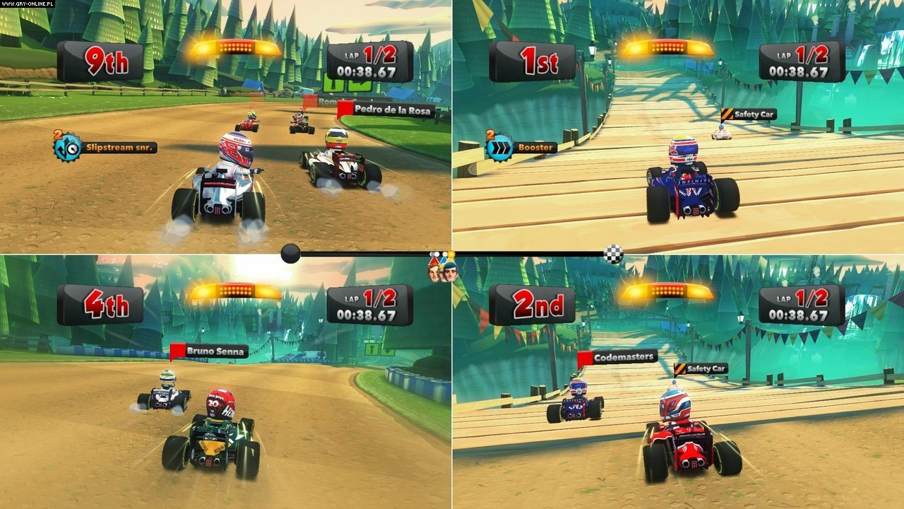 F1 Race Stars PC, X360, PS3 Gry Screen 5/24, Codemasters Software