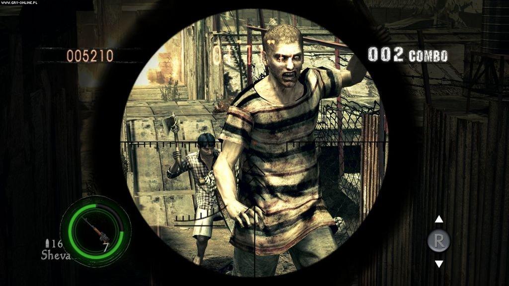 Resident Evil 5 gameplay xbox360,