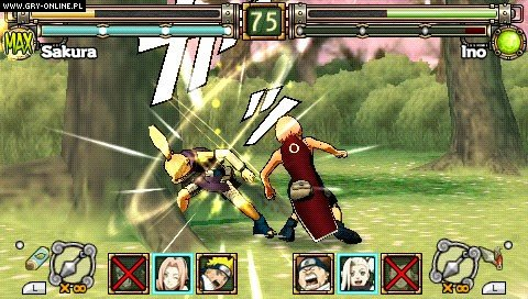 Naruto: Ultimate Ninja Heroes PSP Gry Screen 5/8, Cyberconnect2, Bandai Namco Entertainment