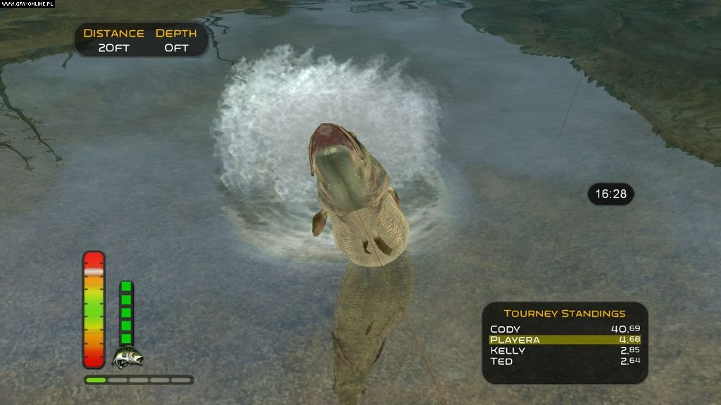 The strike screenshots gallery screenshot 8 16 for Bass pro shop fishing games