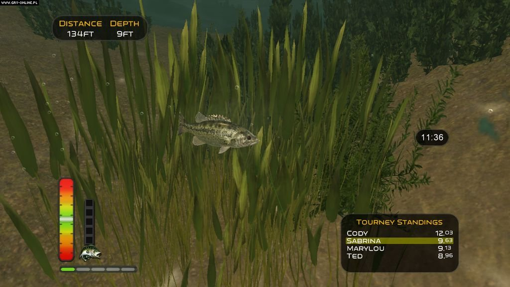 The strike screenshots gallery screenshot 3 16 for Bass pro shop fishing games