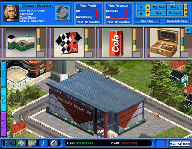 Capitalism ii galeria screenshot w screenshot 6 8 for Capitalism ii