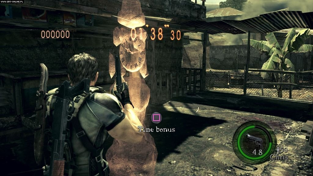 Resident Evil 5 gameplay ps3