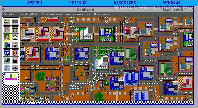 Simcity 1989 screenshots gallery screenshot 1 6 for Online games similar to sims