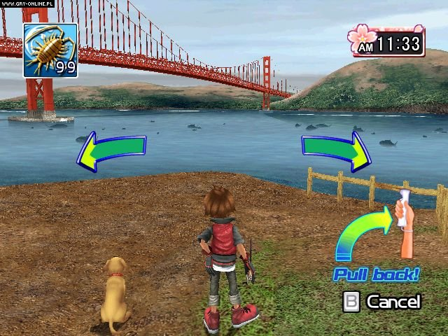 Fishing master world tour screenshots gallery for Wii fishing games