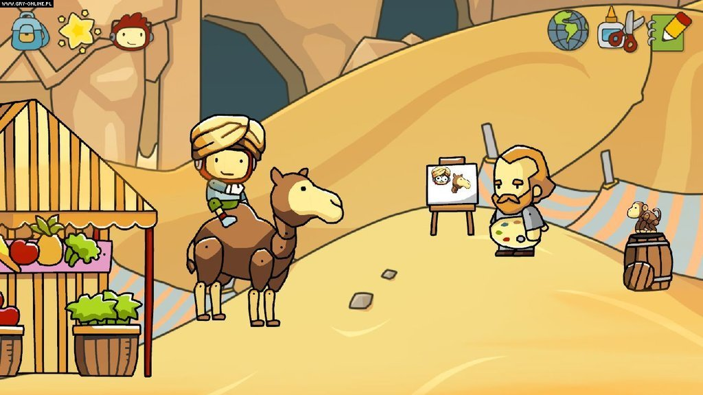 Scribblenauts Unlimited WiiU Gry Screen 4/13, 5TH Cell, Warner Bros. Interactive Entertainment