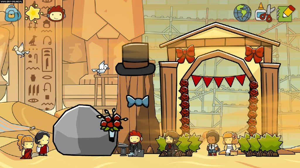 Scribblenauts Unlimited WiiU Gry Screen 2/13, 5TH Cell, Warner Bros. Interactive Entertainment