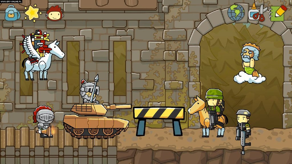 Scribblenauts Unlimited WiiU Gry Screen 1/13, 5TH Cell, Warner Bros. Interactive Entertainment