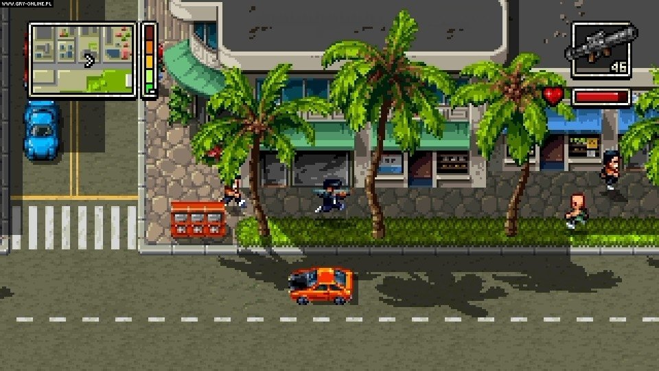 Shakedown Hawaii PC, 3DS, PSV, PS4, Switch Gry Screen 5/10, Vblank Entertainment Inc.