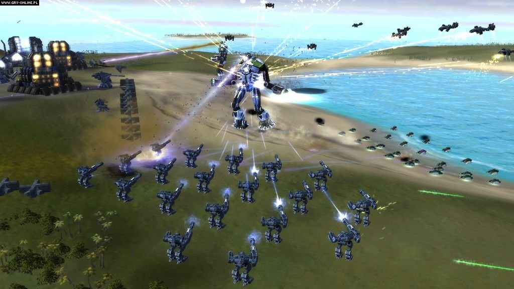 Supreme Commander X360 Games Image 2/119, Gas Powered Games, THQ Inc.