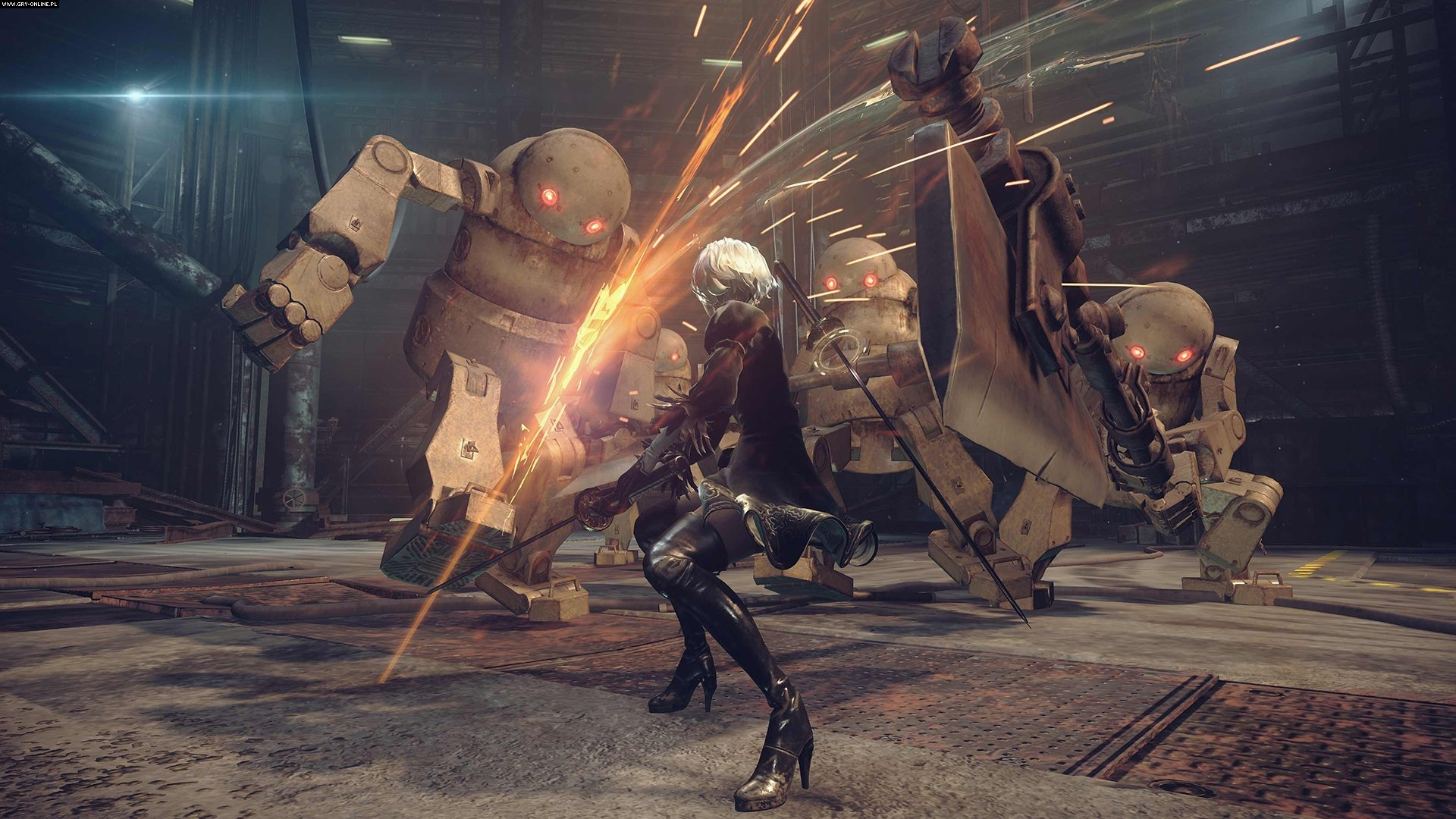 Nier: Automata PC, PS4 Games Image 8/64, PlatinumGames, Square-Enix / Eidos