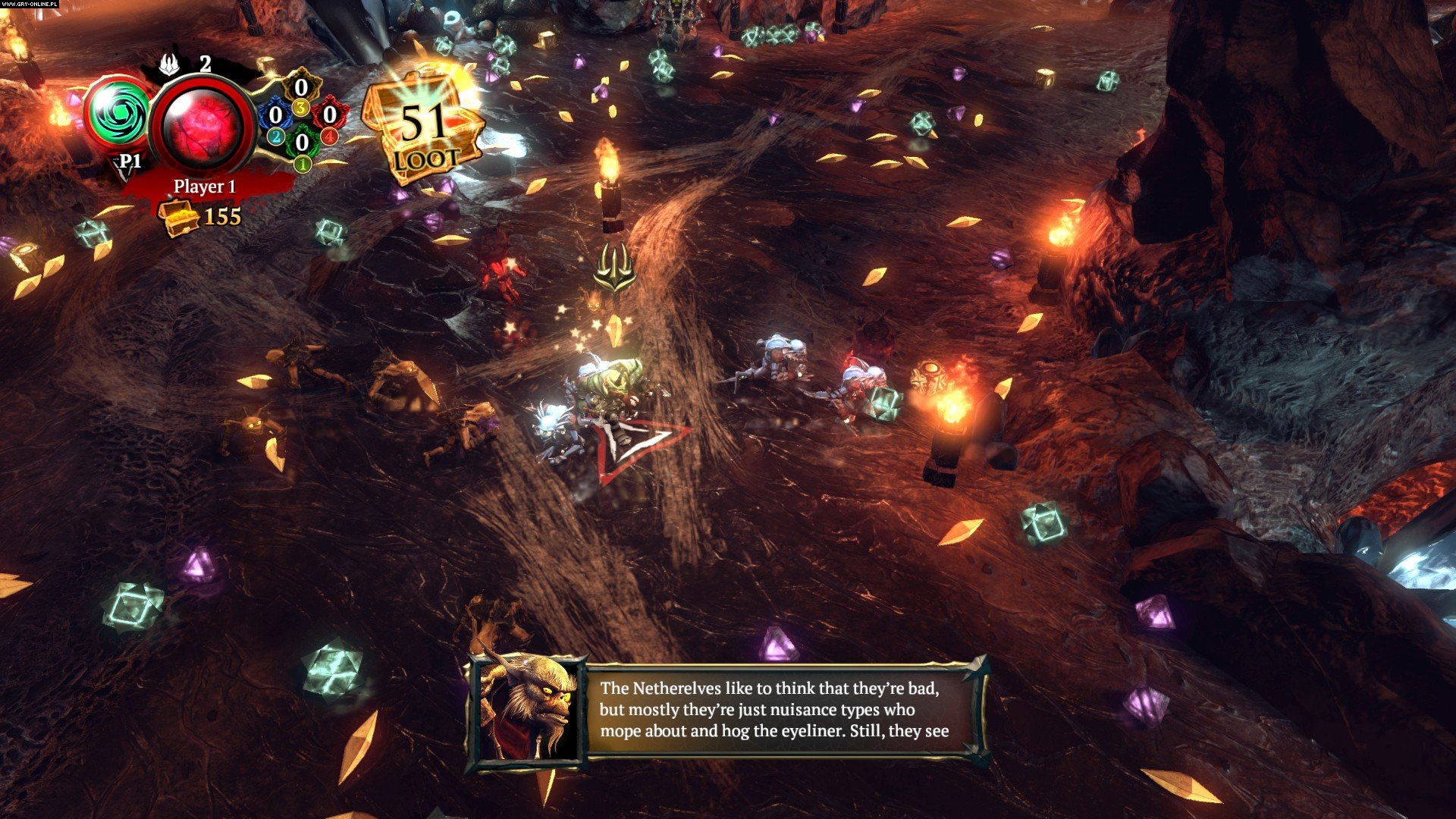 Overlord: Fellowship of Evil PC, PS4, XONE Gry Screen 8/15, Codemasters Software