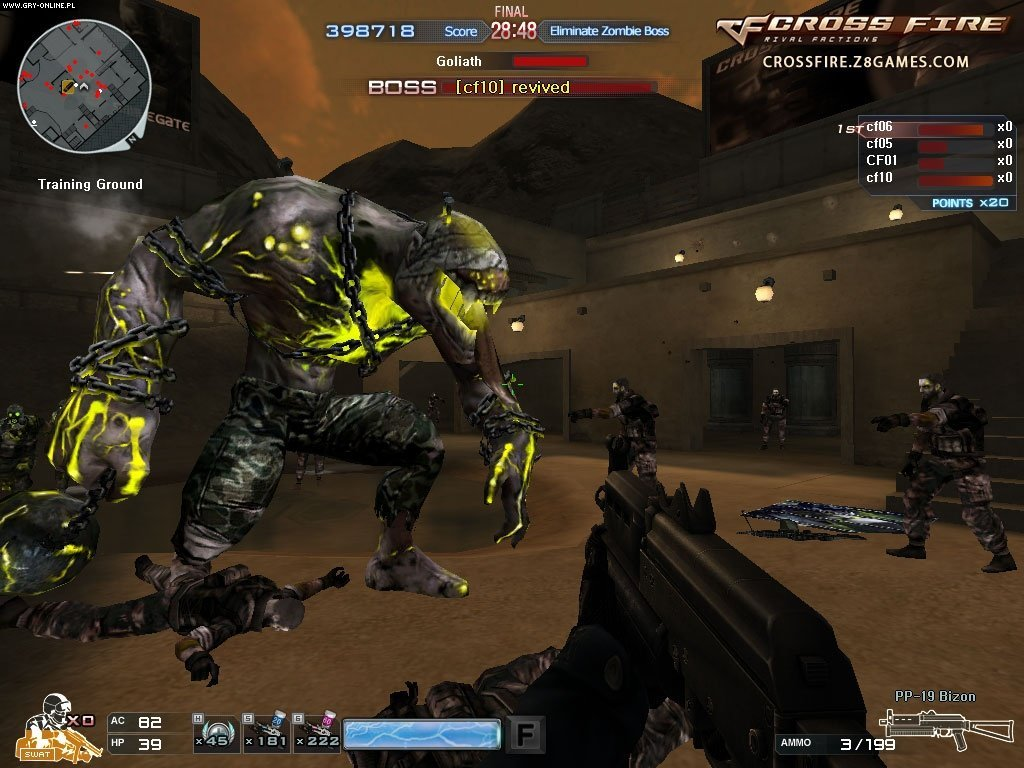 CrossFire - screenshots gallery - screenshot 1/22 - gamepressure com