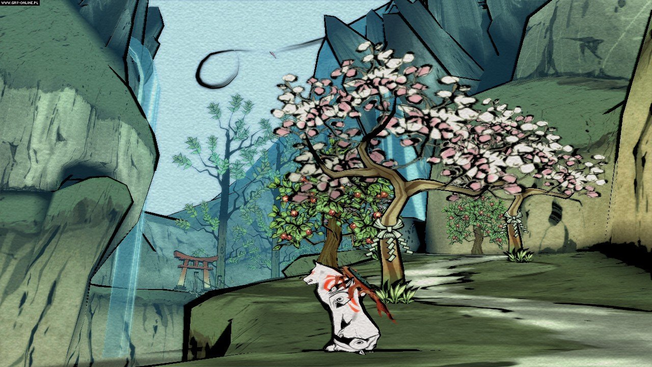 Okami HD PC, PS3, PS4, XONE, Switch Gry Screen 38/39, Hexa Drive, Capcom