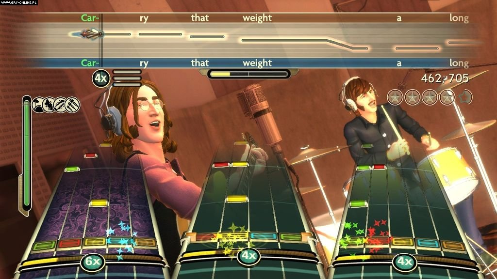 The Beatles: Rock Band X360 Gry Screen 3/42, Harmonix Music Systems, Electronic Arts Inc.