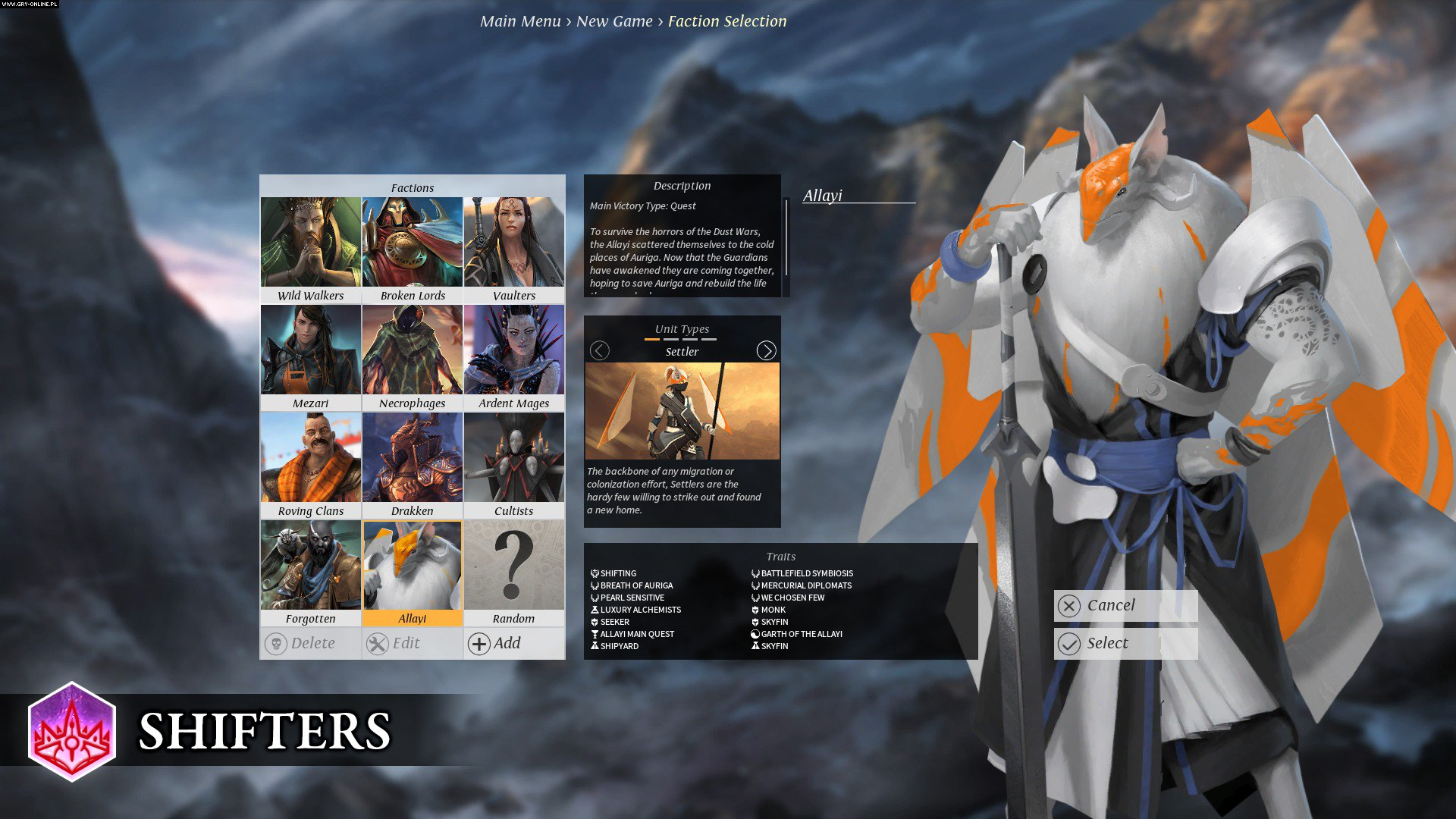 Endless Legend: Shifters PC Gry Screen 6/6, Amplitude Studios, Iceberg Interactive
