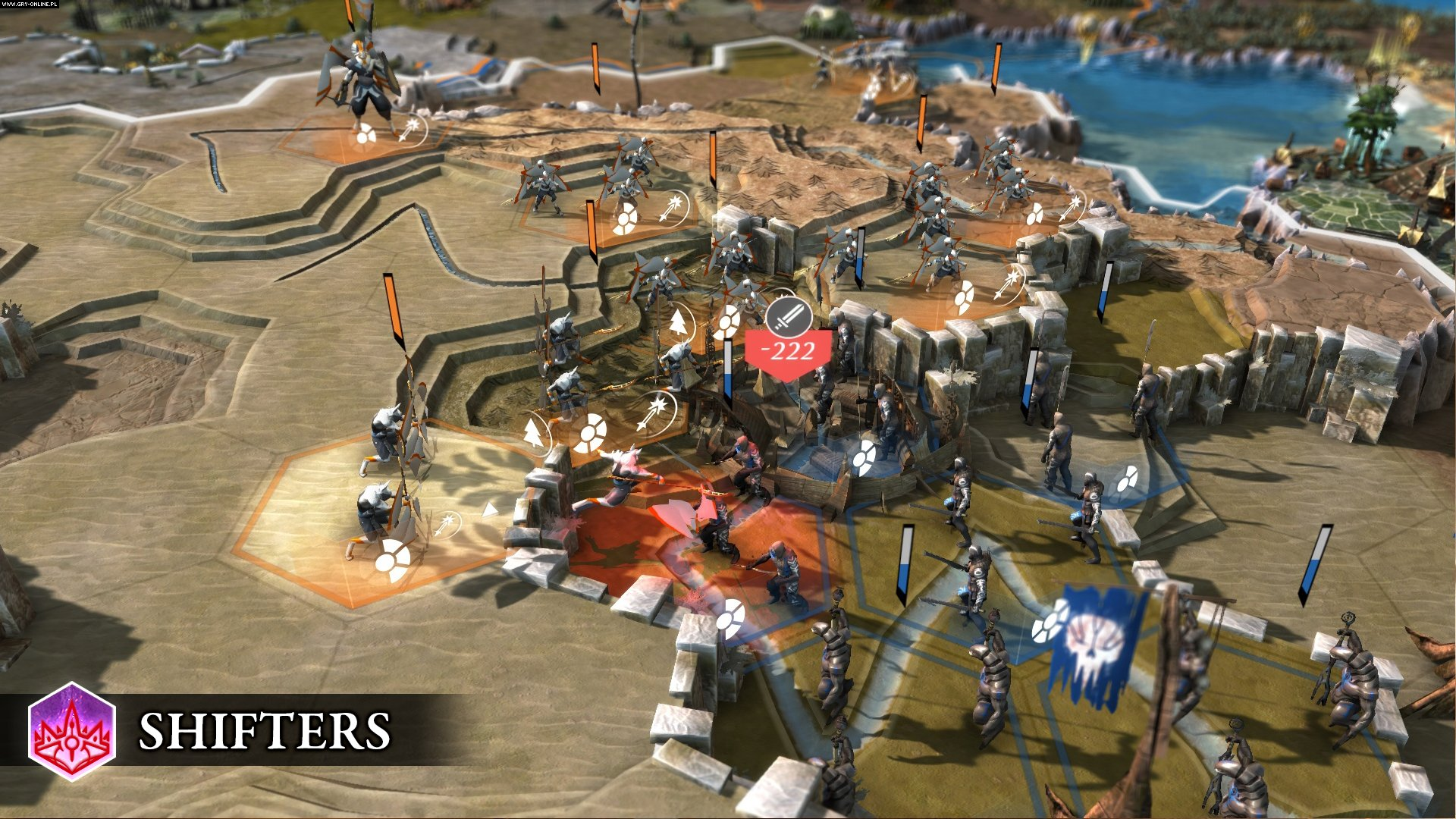 Endless Legend: Shifters PC Gry Screen 3/6, Amplitude Studios, Iceberg Interactive