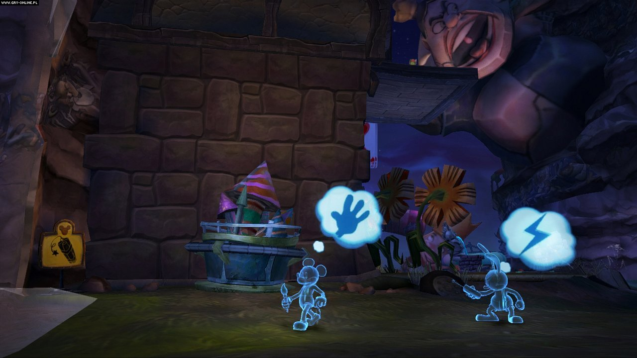 Epic Mickey 2: Siła Dwóch PC, X360, PS3 Gry Screen 6/153, Blitz Games, Disney Interactive Studios