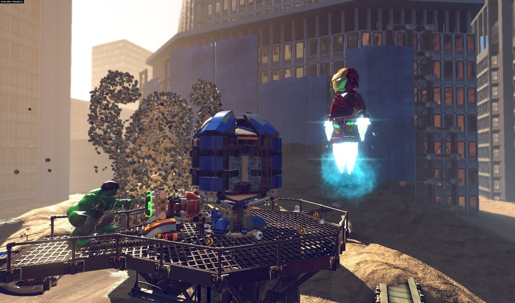 LEGO Marvel Super Heroes PC, X360, PS3 Gry Screen 10/18, Traveller's Tales, Warner Bros. Interactive Entertainment