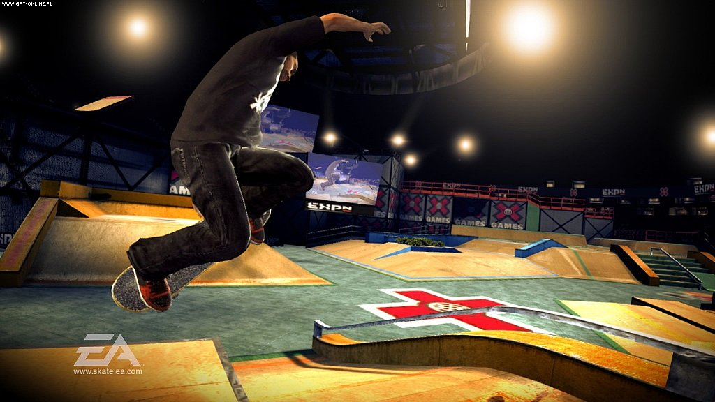 skate. X360 Gry Screen 3/39, Electronic Arts Inc.