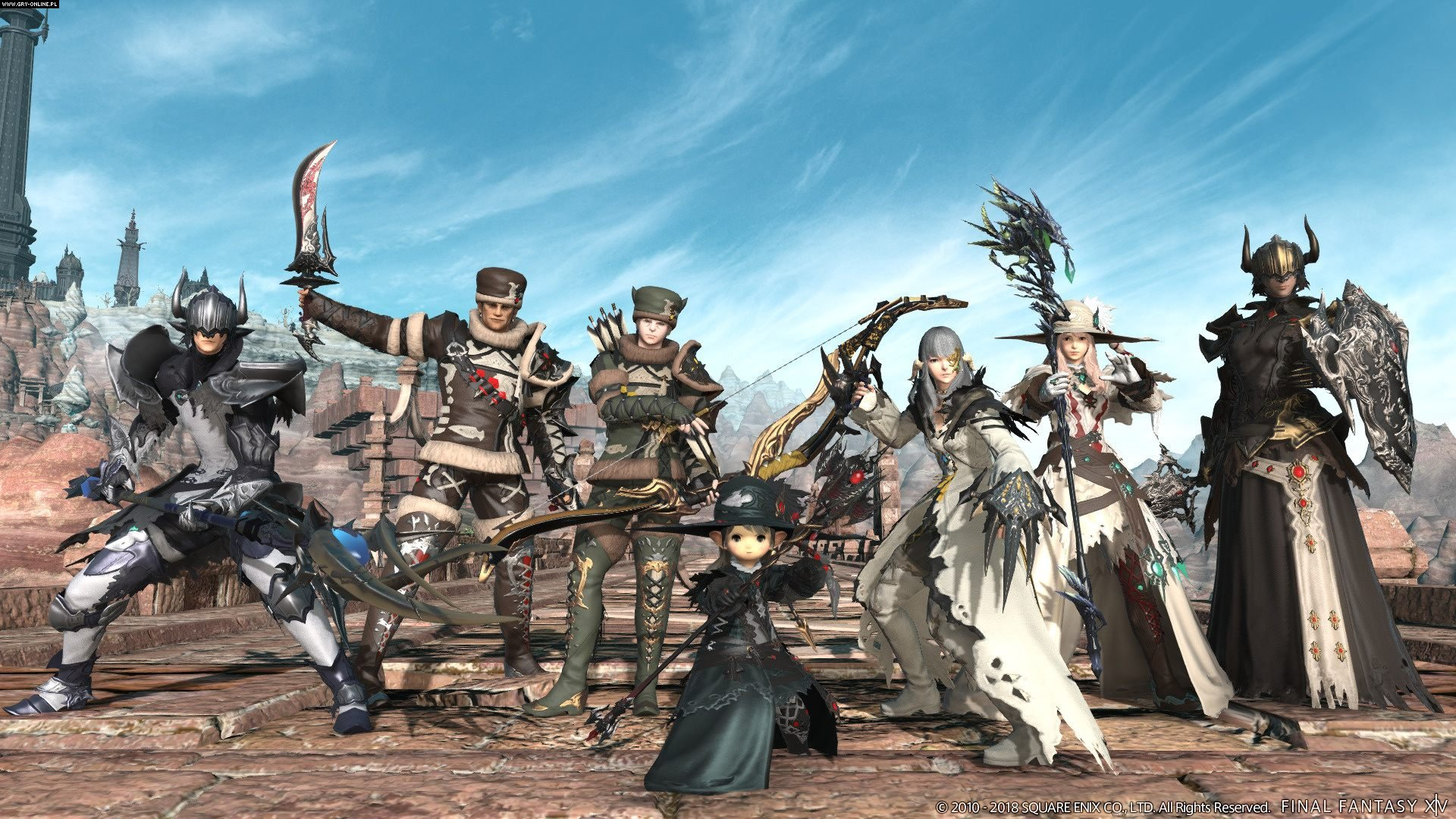 Final Fantasy XIV: Stormblood PS4, PC Gry Screen 30/179, Square-Enix / Eidos