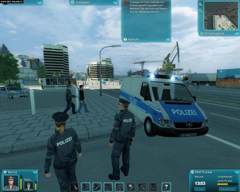 symulator policji 2011 galeria screenshot w screenshot 8 14. Black Bedroom Furniture Sets. Home Design Ideas