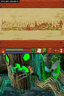 Mushroom Men: Rise of the Fungi NDS Gry Screen 26/107, Red Fly Studios, Gamecock Media Group.