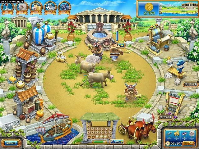 Farm Frenzy: Ancient Rome - screenshots gallery - screenshot
