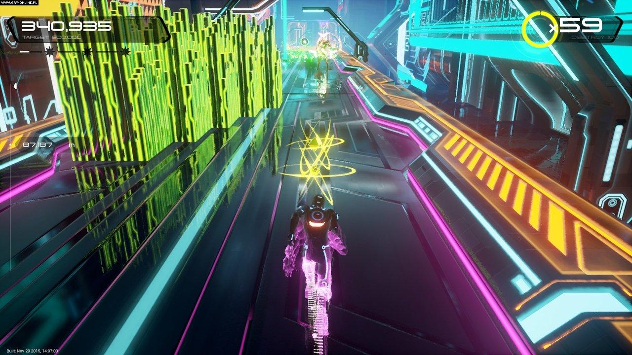 Disney Games For Ps4 : Tron run r screenshots gallery screenshot