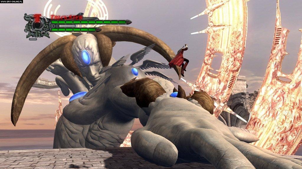 Новые скриншоты Devil May Cry 4.