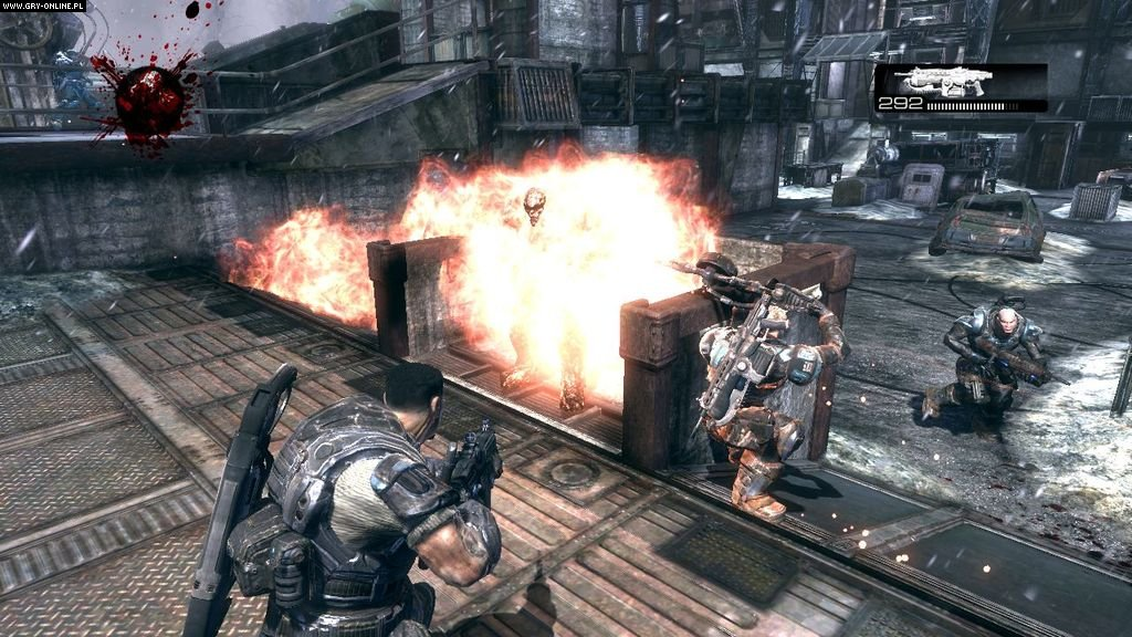 Gears of War 2 X360 Gry Screen 1/108, Epic Games, Microsoft Studios