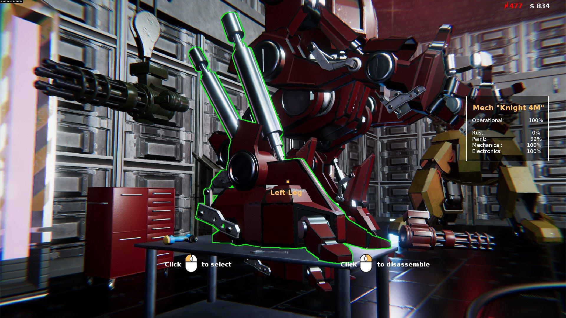Mecha Mechanic Simulator Gameplay