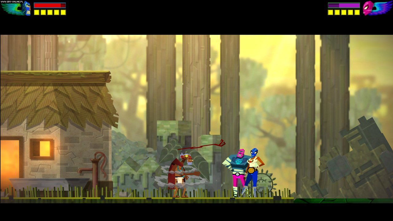 Guacamelee! PS3, PSV Gry Screen 4/32, DrinkBox Studios