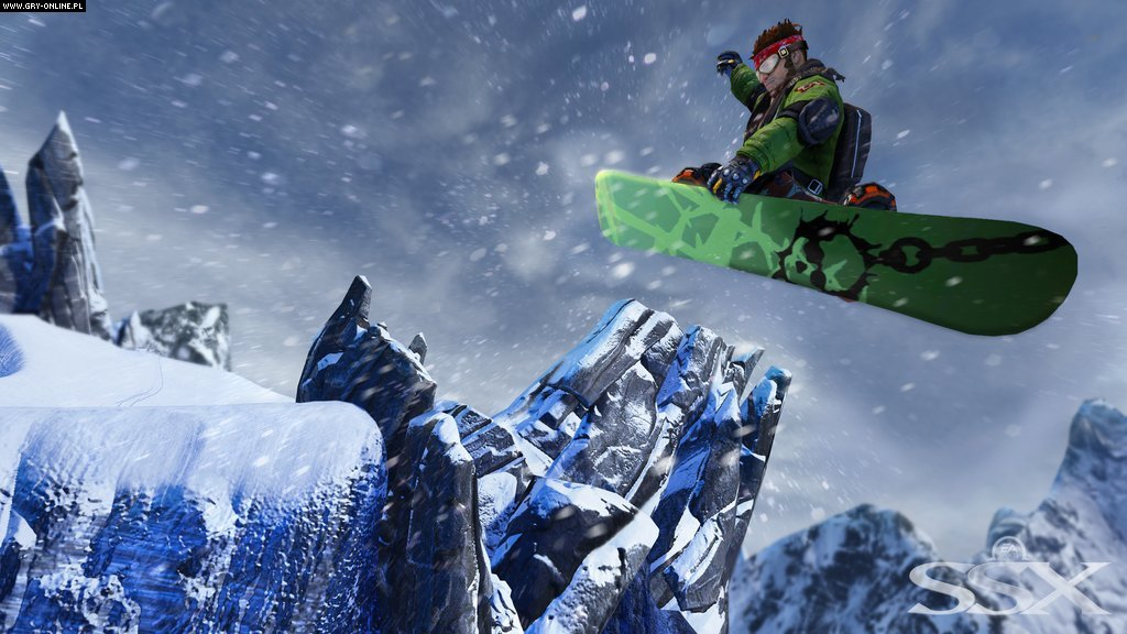 SSX X360, PS3 Gry Screen 49/54, EA Sports, Electronic Arts Inc.