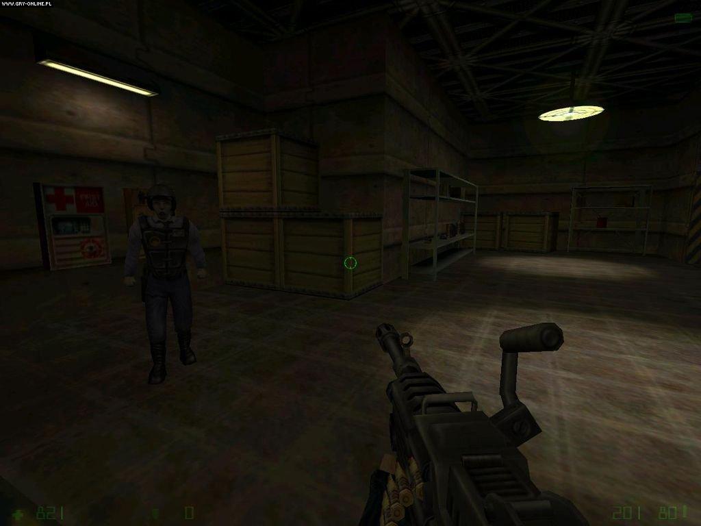Скриншоты half-life: opposing force