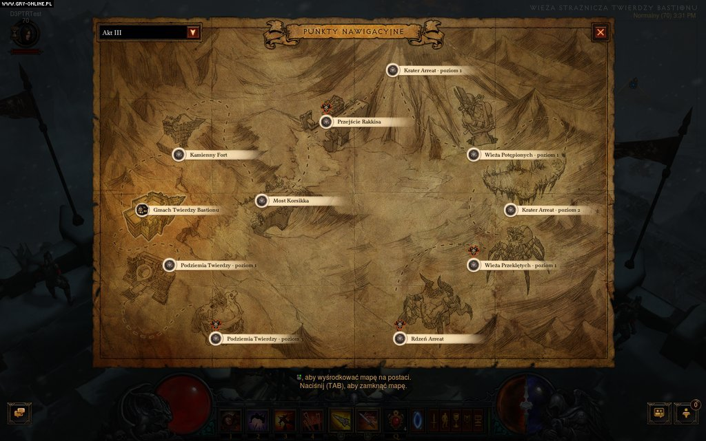 Diablo III: Reaper of Souls PC Gry Screen 1/25, Blizzard Entertainment