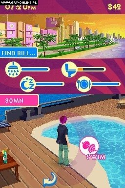Miami Nights: Singles in the City NDS Gry Screen 1/4, Gameloft, Ubisoft