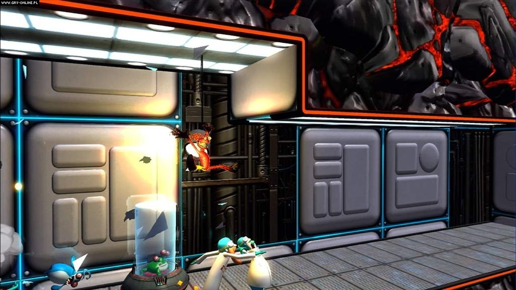'Splosion Man X360 Gry Screen 42/50, Twisted Pixel, Microsoft Studios