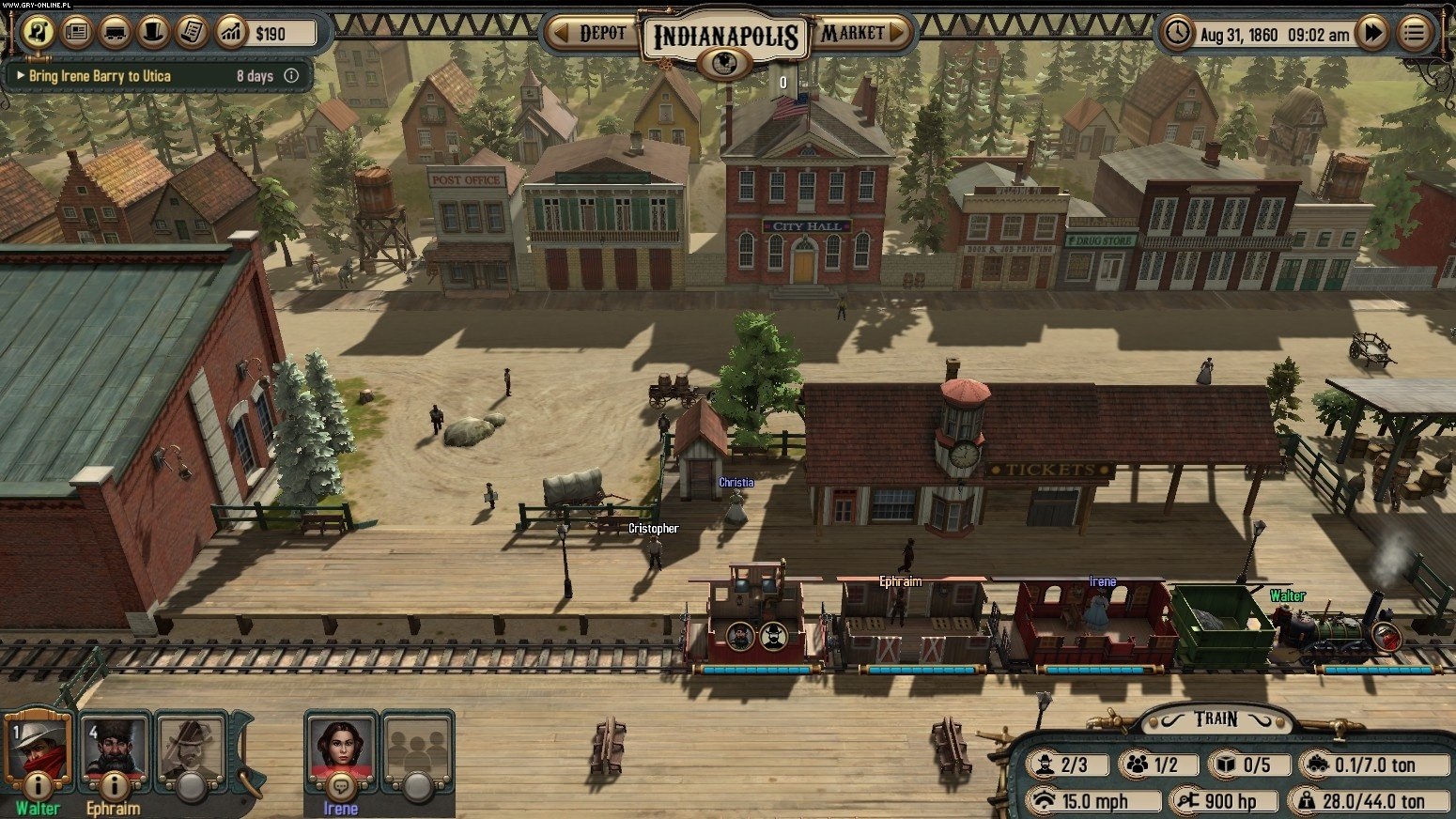 Bounty Train PC Games Image 7/26, Corbie Games, Daedalic Entertainment