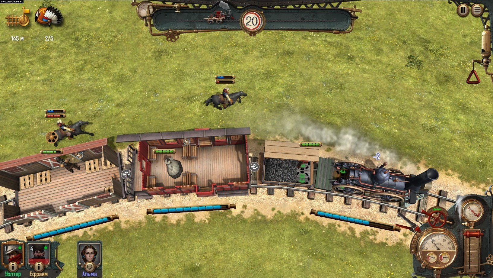 Bounty Train PC Games Image 6/26, Corbie Games, Daedalic Entertainment