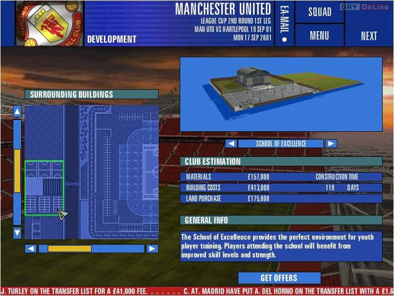 The F A  Premier League Manager 2002 - screenshots gallery