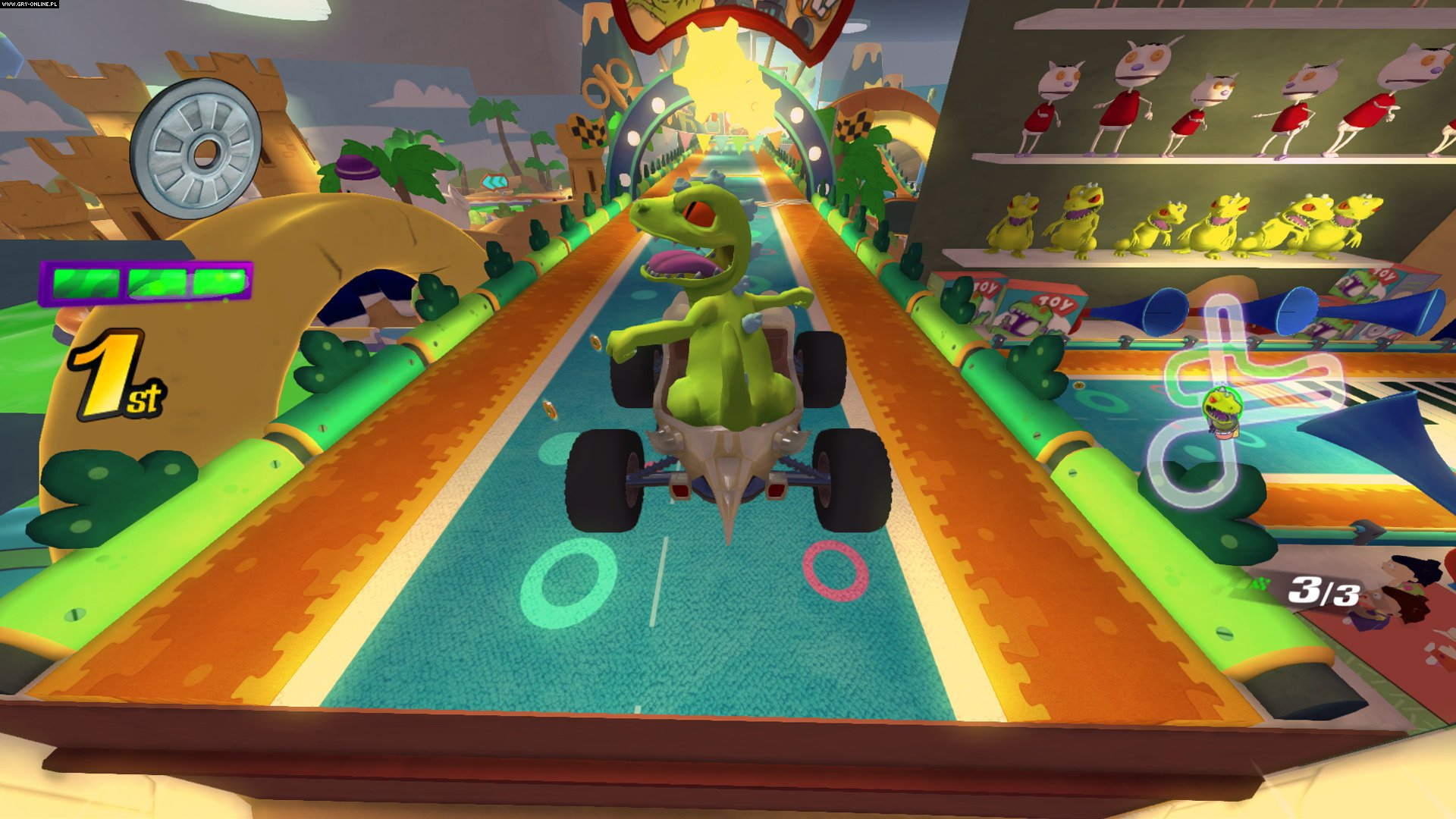 Nickelodeon Kart Racers PS4, XONE, Switch Gry Screen 12/12, GameMill Entertainment